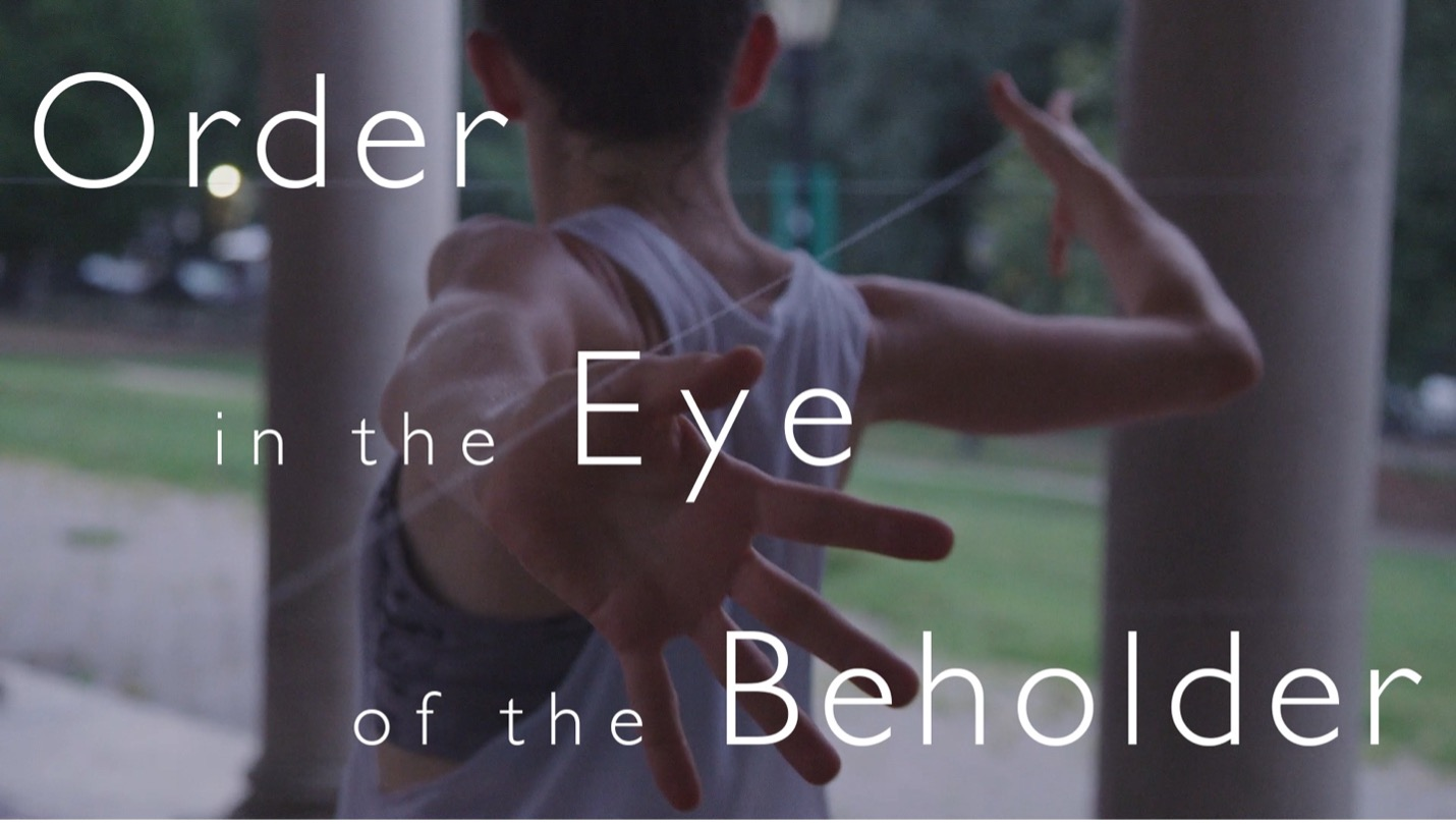 dancer with text reading order in the eye of the beholder
